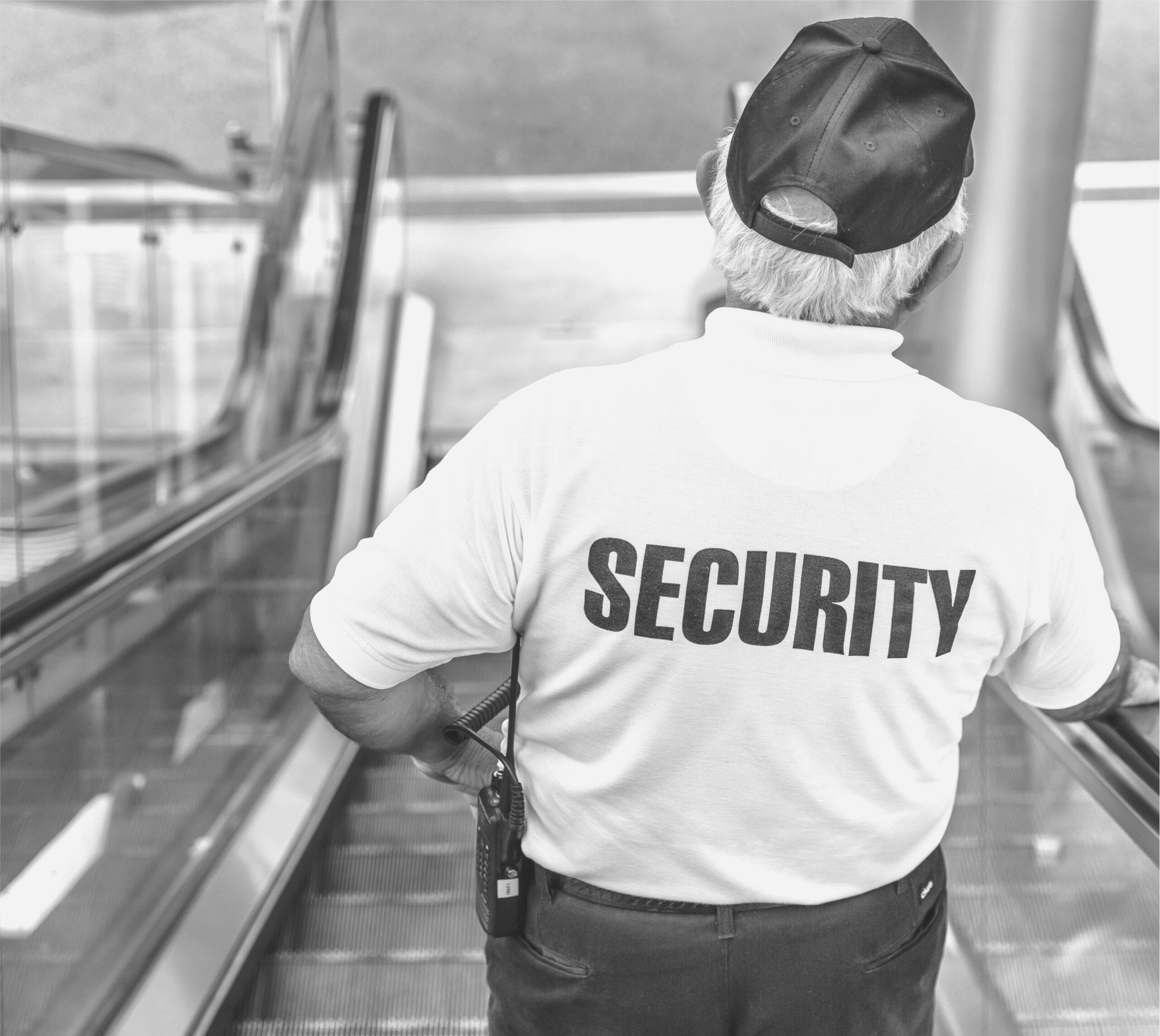 Sicherheitsangestellter