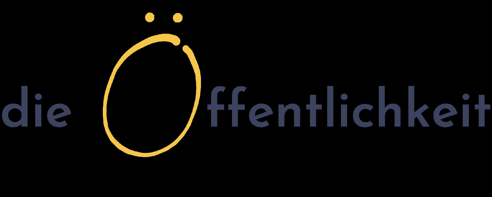 Logo - die Öffentlichkeit